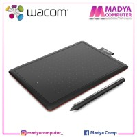 Wacom One / One by Wacom CTL-472/K0-CX Black Red - Creative Pen Tablet