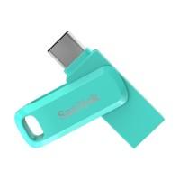 Sandisk OTG 64GB USB Type-C USB 3.1 Ultra Dual Drive Go - Green