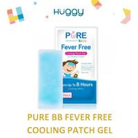 Pure Kids Fever Free Pure BB Baby Plester Penurun Panas Isi 4 Pcs