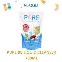 Pure BB Baby Liquid Cleanser Refill 700ml Sabun Cuci Pembersih Dot