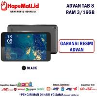ADVAN TAB 8 RAM 3/16GB GARANSI RESMI ADVAN INDONESIA TERMURAH