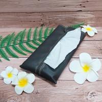 TECHNOZIO Tissue Bag/Tissue Organizer/Tempat Tissue Warna Coklat Tua