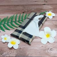 TECHNOZIO Tissue Bag/Tissue Organizer/Tempat Tissue Motif Garis Nova