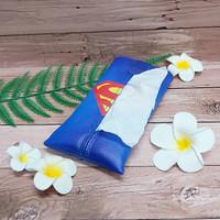 TECHNOZIO Tissue Bag/Tissue Organizer/Tempat Tissue Superman