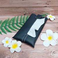 TECHNOZIO Tissue Bag/Tissue Organizer/Tempat Tissue Warna Hitam