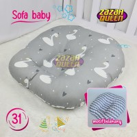 Sofa Bayi Motif 2 sisi / kasur bayi praktis