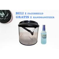 Faceshield - face shield perlindungan virus (FREE SANITISER 100ml)