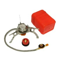 Kompor Ultralight + Adaptor Gas Hicook / Kompor Camping / Kompor Lipat