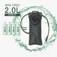 Elfs - Kantong Air Minum 2L BPA Free WATER BLADDER Hijau Army
