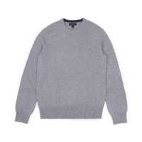 BRP Italian Merino Crewneck Sweater Grey