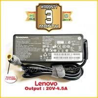 Charger Adaptor Laptop Lenovo 20V 4.5A 90W Pin Jarum Original