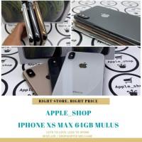 iPhone XS MAX 64gb second mulus terawat