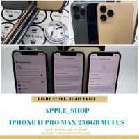 iphone 11 pro max 256gb second fullset terawat