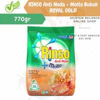 Rinso Bubuk Anti Noda+Molto Royal Gold 800gr/deterjen/detergen
