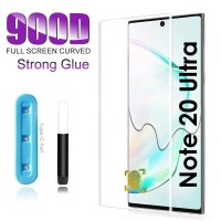 SAMSUNG GALAXY NOTE 20 NOTE 20 ULTRA TEMPERED GLASS UV TEMPERED FULL