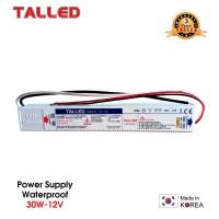 POWER SUPPLY ADAPTOR TRAFO TALLED 12V 2.5A 30W WATERPROOF