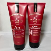 BBW BATH & BODY WORKS AROMATHERAPY LOVE BODY CREAM JASMINE SANDALWOOD