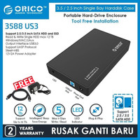 ORICO ORIGINAL 3588US3 3.5 inch USB3.0 HDD Enclosure - CASE HARDISK