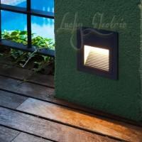 Lampu Tangga 3 Watt 3 w 3watt 220V Outdoor-Indoor / LED Inwall 3w