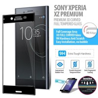 Sony Xperia XZ Premium - Premium 3D Curved Tempered Glass Protector