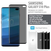 Samsung Galaxy S10 Plus - Premium 3D Anti Spy Tempered Glass Protector