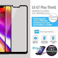 LG G7 Plus ThinQ - Premium 3D Curved Tempered Glass Protector