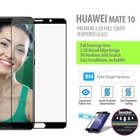 Huawei Mate 10 - 2.5D Full Cover Tempered Glass Protector