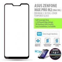 Asus Zenfone Max Pro M2 - 2.5D Full Cover Tempered Glass Protector