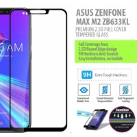 Asus Zenfone Max M2 ZB633KL - 2.5D Full Cover Tempered Glass Protector