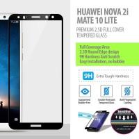 Huawei Nova 2i - 2.5D Full Cover Tempered Glass Protector