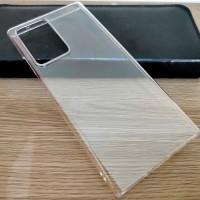 Samsung Galaxy Note 20 Ultra - Transparan Clear Hard Case Cover