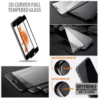 Samsung Galaxy Note 8 - Premium 3D Curved Tempered Glass Protector