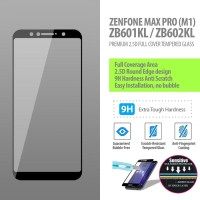 Asus Zenfone Max Pro M1 - 2.5D Full Cover Tempered Glass Protector