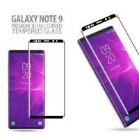 Samsung Galaxy Note 9 - Premium 3D Curved Tempered Glass Protector