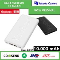Yoobao P10T Powerbank 10000mAh PowerTurbo Slim and Thin Body