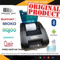 Printer thermal support android iphone windows bluetooth USB VSC TM58D