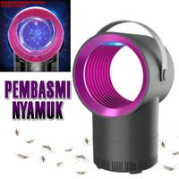 LED ELEKTRIK USB PHOTOCALYSIS Pembasmi Nyamuk Serangga Lampu