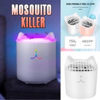 MOSQUITO KILLER Perangkap Nyamuk Bentuk Kucing Suara Senyap