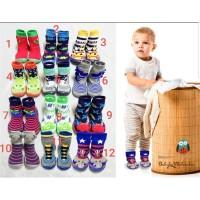 sepatu kaos kaki anak / skidder shoes / sepatu karet anak