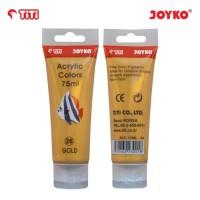 Acrylic Color Cat Akrilik Joyko TiTi ACC-75ML-26 Gold Color Warna