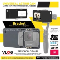 Mount Plate Gimbal Adapter Smartphone Action Cam Camera GoPro Xiaomi