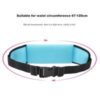 New Running Belt Waterproof Tas Pinggang Olahraga Go belt /JOGGING - Merah Muda
