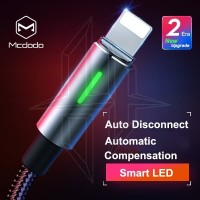 MCDODO Cable Auto Disconnect Lightning Kabel Data Fast Charging Iphone