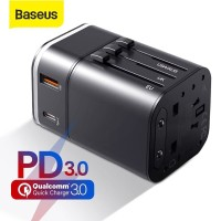 BASEUS Travel Adapter Power Delivery PD Charger Adaptor Quick Charge