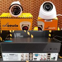 PAKET CCTV 2MP 2 KAMERA PROMO TERMURAH LENGKAP KOMPLIT (BEST SELLER)