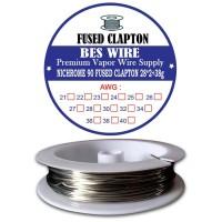 Fused Clapton NI90 28*2+38g | 1 METER