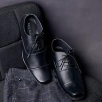 Paulmay Sepatu Formal Pria Venesia 23 - Hitam, 42