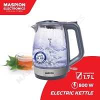 Maspion Electric Kettle MEK-1712GS Teko Listrik Kaca 1,7 Liter