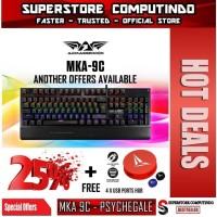 Armaggeddon MKA-9C PSYCHEAGLE Mechanical Gaming Keyboard