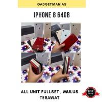 iphone 8 64gb second ex inter fullset